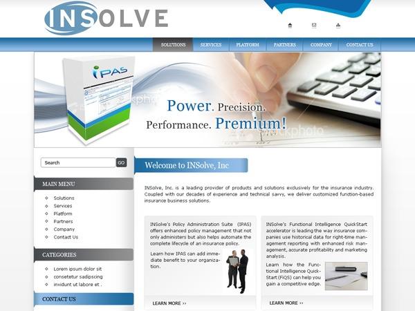 Insolve_inc theme WordPress