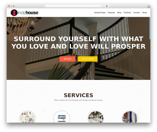 OnePirate WordPress template free - indehouseobx.com