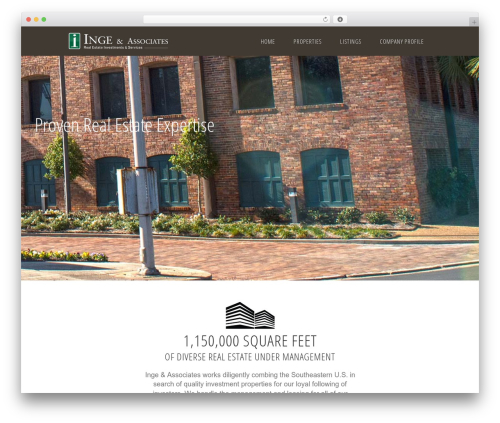 Ratio real estate WordPress theme - ingerealestate.com