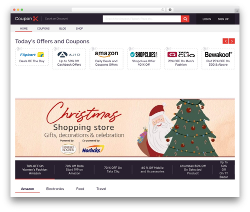 Coupon by MyThemeShop WordPress theme - couponsclick.in