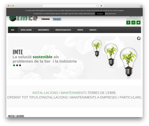 GoodSimple WordPress theme - imte.cat