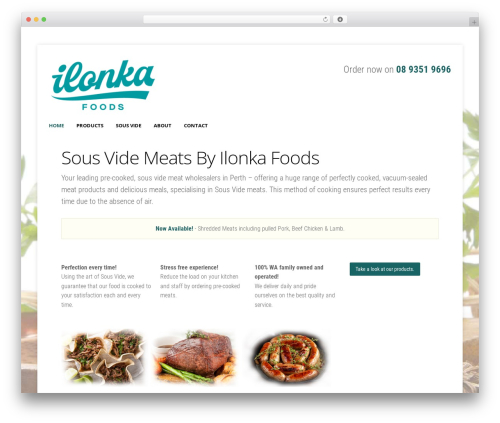 StoreBox food WordPress theme - ilonkafoods.com.au