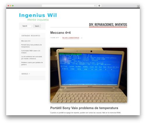 Tesla WordPress theme download - ingeniuswil.com