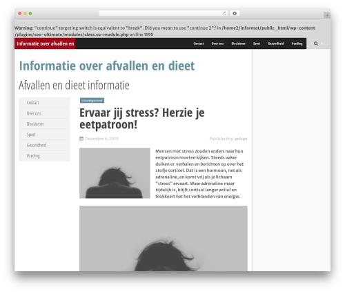 Theme WordPress SmartAdapt - informatiepeloponnesos.nl