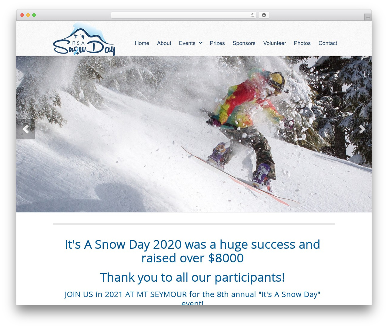 WP theme Peacemaker - itsasnowday.ca