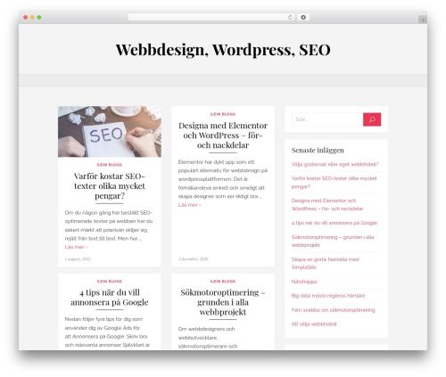 Brilliant WordPress page template - ileva.se