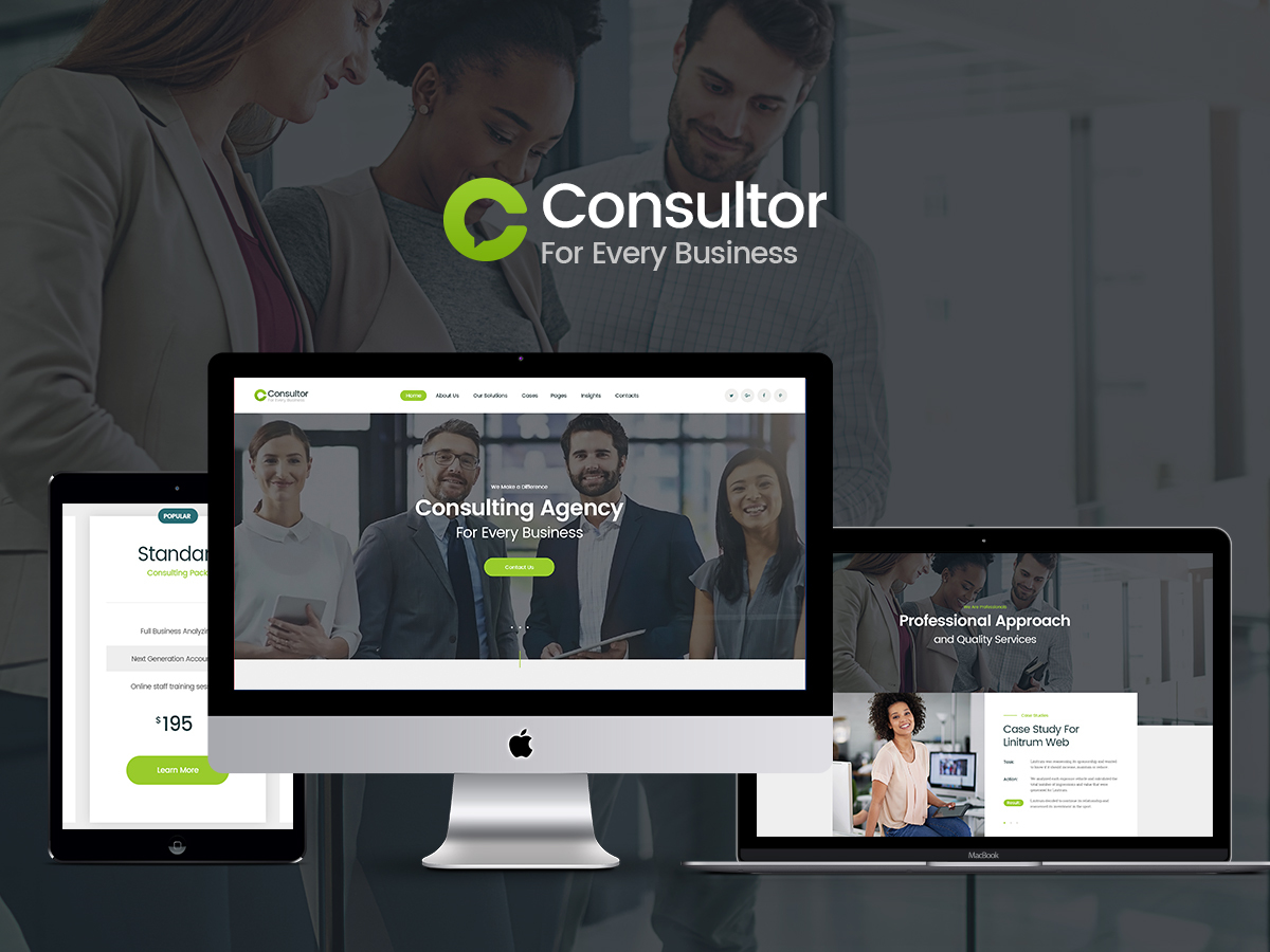 Consultor WordPress blog theme