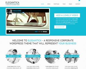 Elegantica (shared on mafiashare.net) WordPress blog theme
