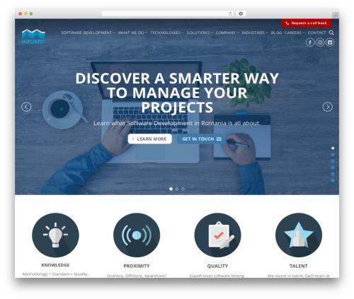 Flatsome theme WordPress - infobest.ro