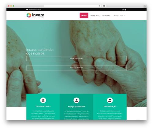 iMedica WordPress template - incare.com.br