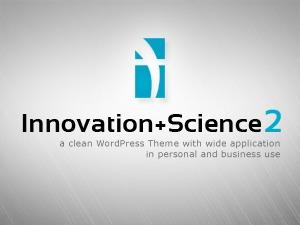 Innovation Science Wordpress Theme WordPress portfolio template