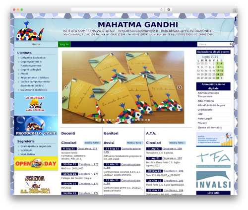 PASW 2015 template WordPress - icmahatmagandhi.it
