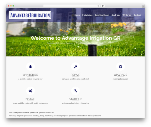 Pinnacle WordPress template free download - advantageirrigationgr.com