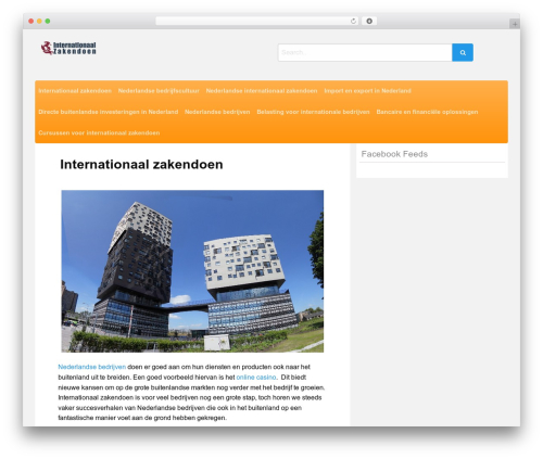 Poster best WordPress template - internationaal-zakendoen.nl