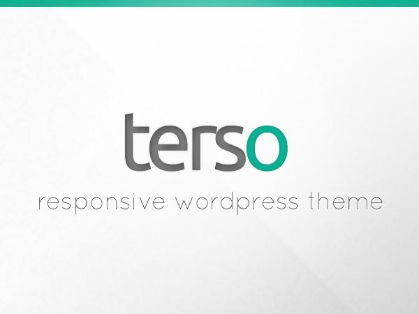 Terso WordPress page template