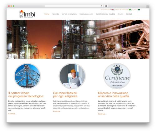 Vivacity WordPress theme design - imbi.it