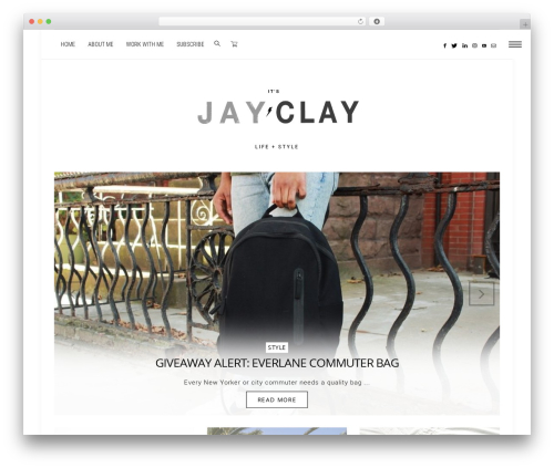 WordPress template Dashblog - itsjayclay.com