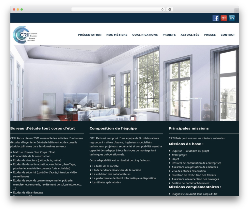 Campus Lite WordPress free download - ingenierie-batiment-paris.fr