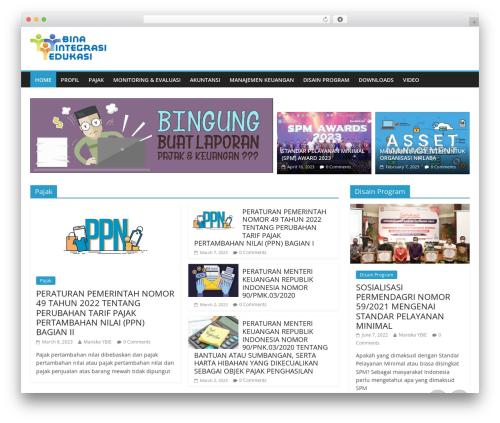 Free WordPress Vertical scroll recent post plugin - integrasi-edukasi.org
