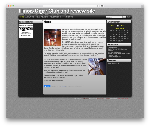 WordPress event-calendar-3-for-php-53 plugin - ilcigarclub.com