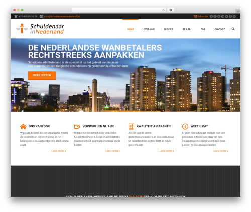 Jupiter WordPress page template - incassobureaunederland.be