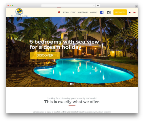 Leisure WordPress theme - ile-maurice-destination.com