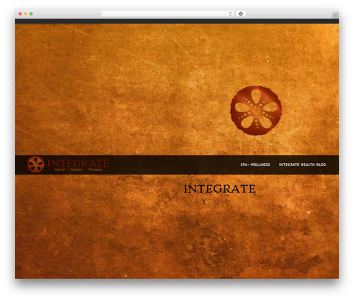 NOO Yogi top WordPress theme - integrateyourself.com