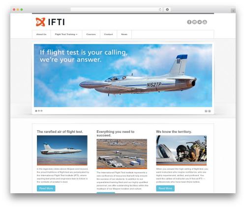 Swagger best WordPress theme - iftinstitute.com