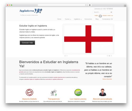 U-Design WordPress theme - inglaterraya.com