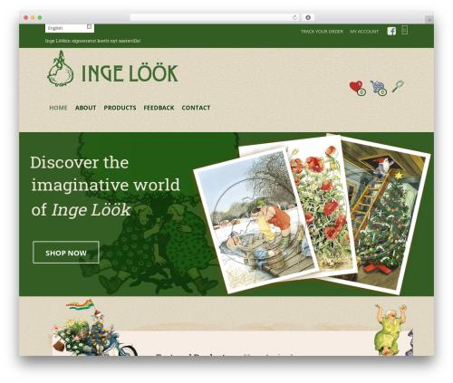 WordPress theme Mr. Tailor - ingelook.com