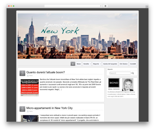 WordPress theme Suffusion - immobiliarenewyork.com