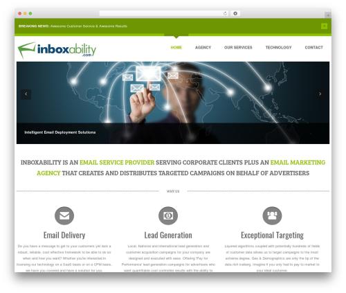 WP Starter top WordPress theme - inboxability.com