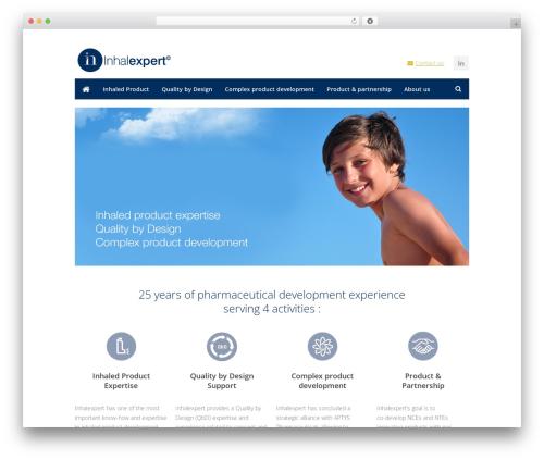 Centum premium WordPress theme - inhalexpert.com