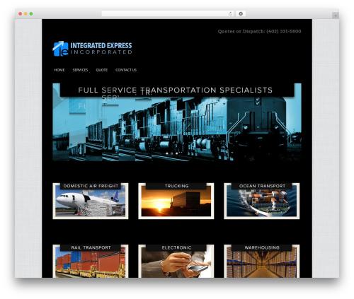 Cleaner WordPress Theme best WordPress template - integratedexpress.com