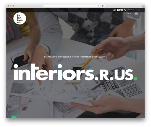 Mies WordPress template for business - interiorsrus.com
