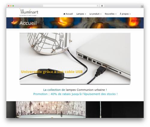 Striking MultiFlex & Ecommerce Responsive WordPress Theme WordPress ecommerce theme - illuminart.ca
