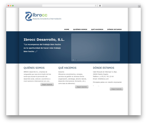 WordPress theme TekNium - ibrocc.com