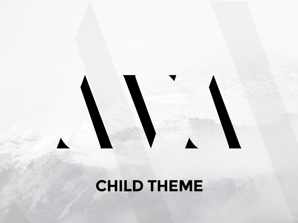 Ava - Child Theme premium WordPress theme