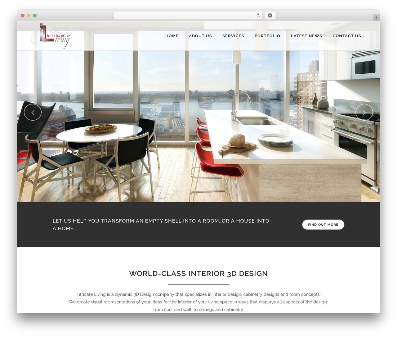 Bridge WordPress page template by Qode Interactive - intricateliving.com