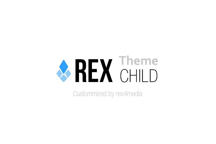 rex-child template WordPress by Rex4media