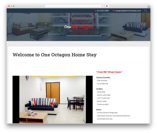 RobiStrone best WordPress template - ipoh-homestay.com