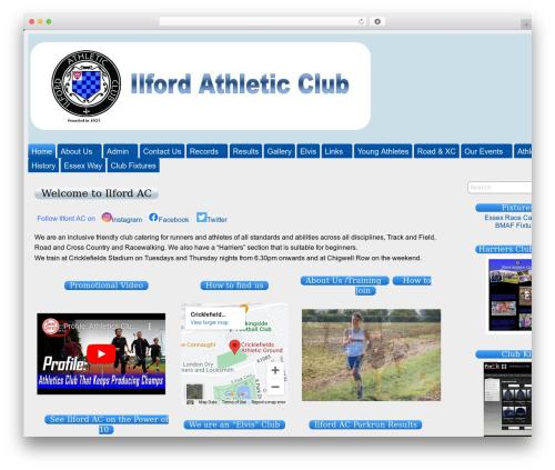 Suffu-scion WordPress theme - ilfordathleticclub.co.uk