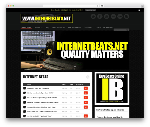 Free WordPress Premium Social Login with Social Data Integration (Paid) plugin - internetbeats.net