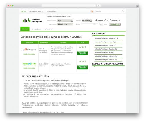 WordPress theme Alias - internetapieslegumi.lv