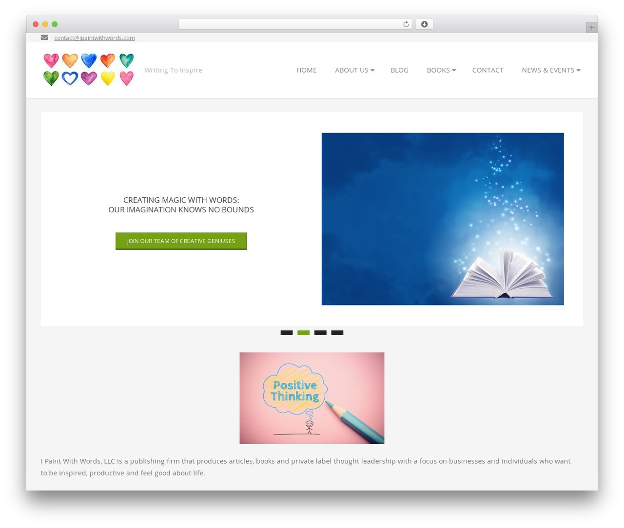 Brigsby Premium best WordPress template - ipaintwithwords.com