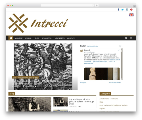 Free WordPress Book Review plugin - intrecci.eu