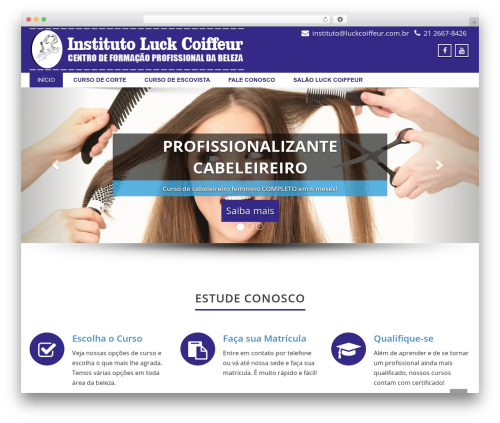 Enigma template WordPress free - instituto.luckcoiffeur.com.br