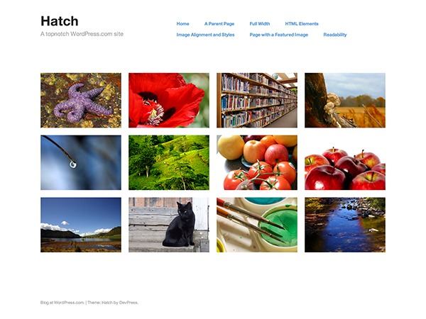 Hatch - WordPress.com best WordPress gallery
