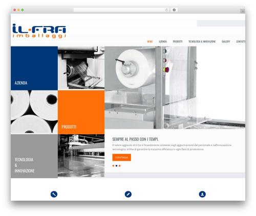 Klasik WordPress theme design - ilfra.net