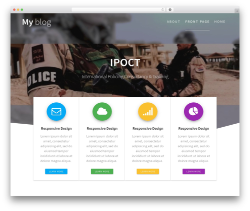 One Page Express WordPress template free download - ipoct.eu